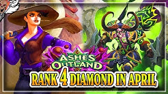 Rank 4 Diamond For April ~ Hearthstone Ashes of Outlands
