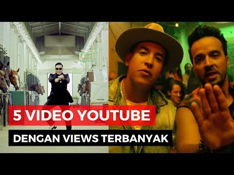 Top 5 Video Youtube Dengan Views Terbanyak 2017 Mp3