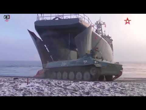 استعراض للقوات البحرية الروسية Russian marine Forces