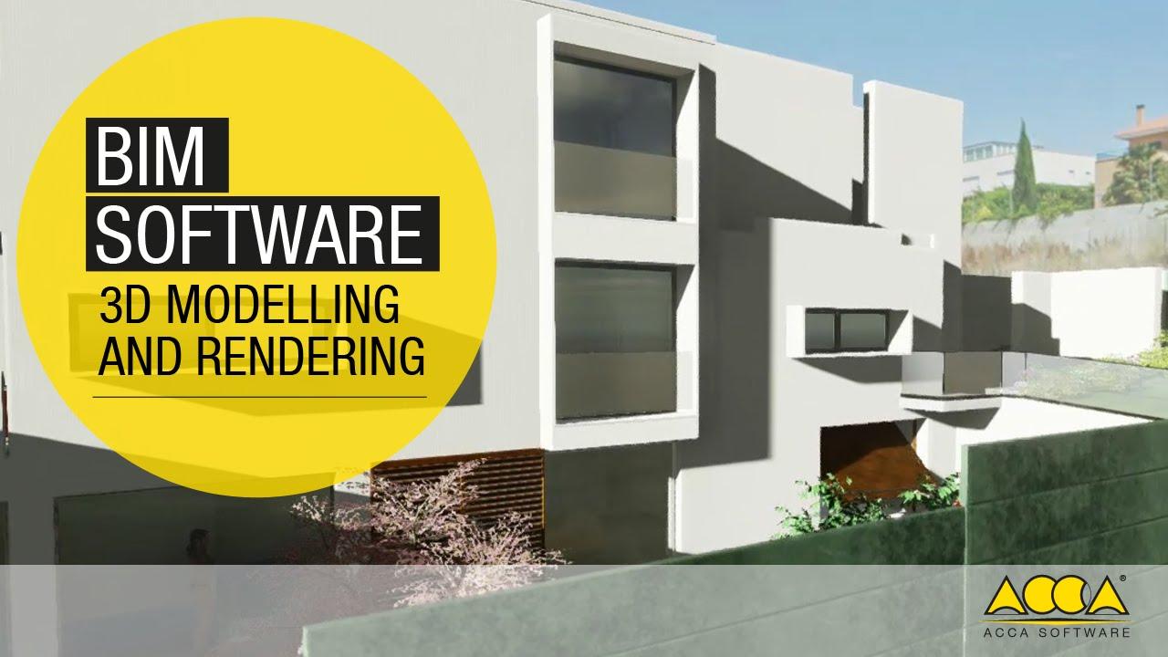 Bim software per la migliore progettazione architettonica for Progettazione 3d gratis