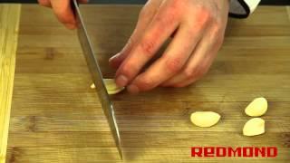 Свинина со стручковой фасолью в мультиварке REDMOND RMC-M4504