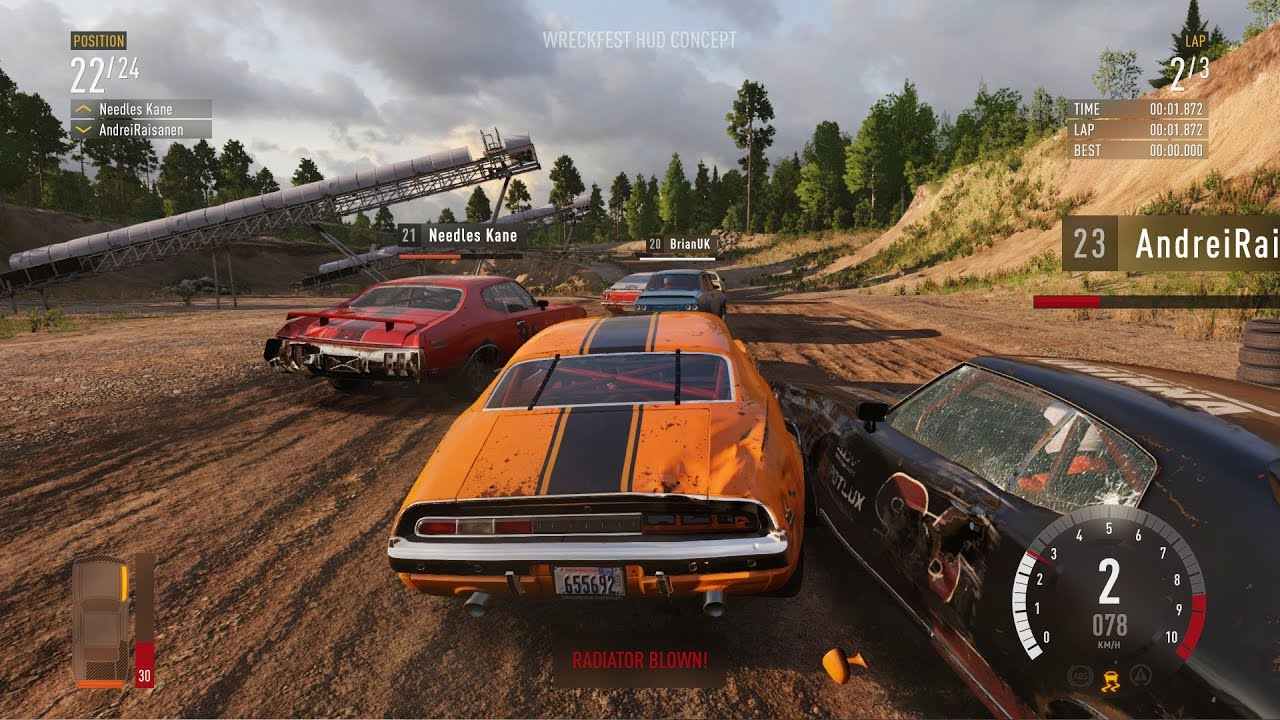 wreckfest exclusive gameplay ps4 xbox one youtube. Black Bedroom Furniture Sets. Home Design Ideas