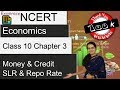 NCERT Class 10 Economics Chapter 3: Money and Credit (CRR, SLR & Repo Rate)