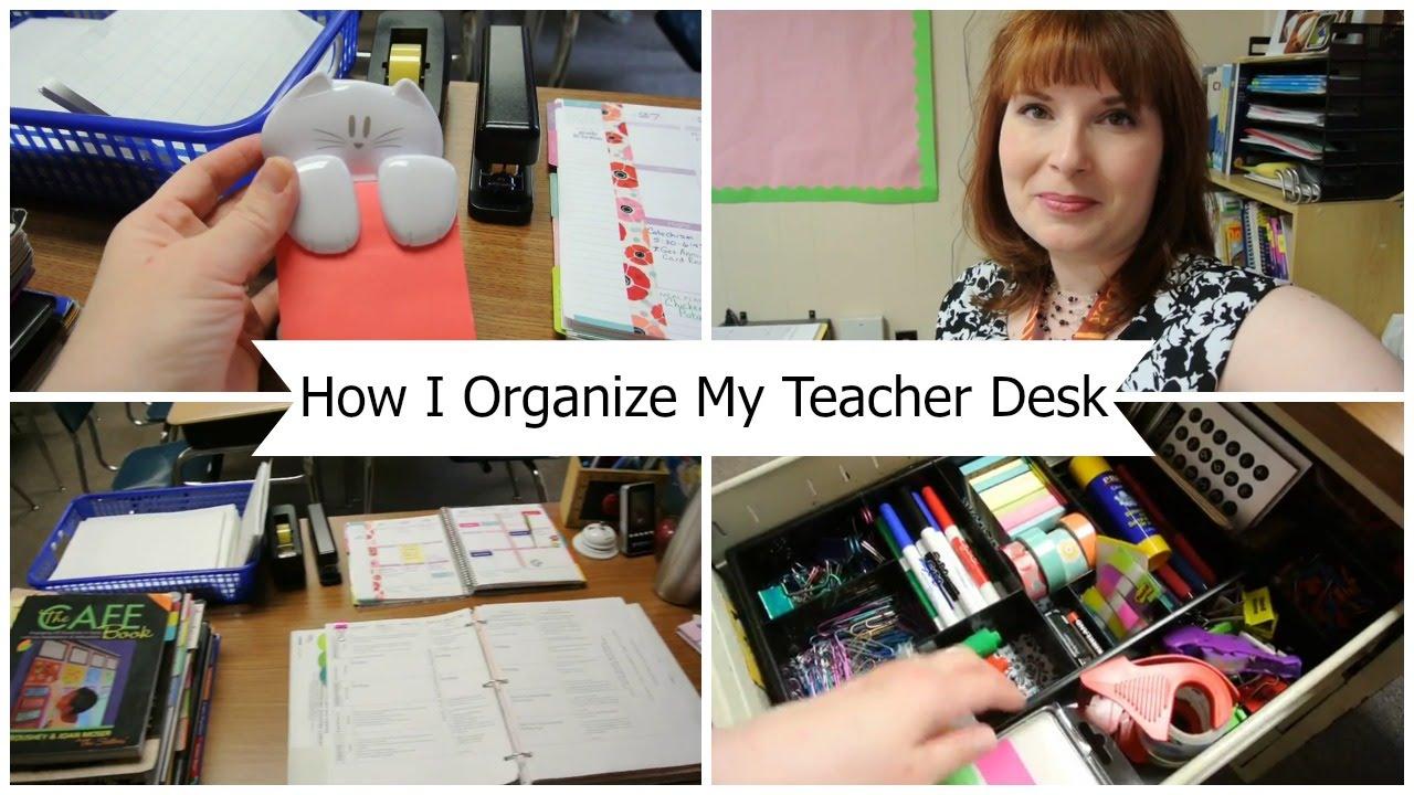 Teacher Desk Ideas