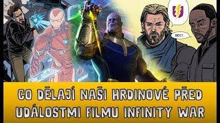Co dělají naši hrdinové před událostmi Infinity War a další zajímavosti | ULBERT