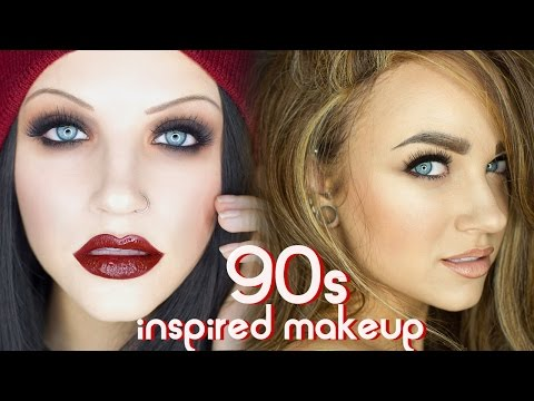 90s Grunge & Supermodel Glam Makeup Tutorial
