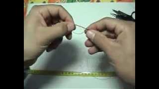 Comment fabriquer votre bas de ligne à noeud avec Dipteria31