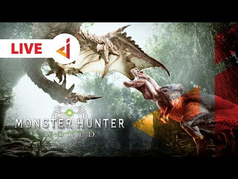 LIVE ON TWITCH !! OTW HR 70 !! -  Monster Hunter : World [Indonesia] #7