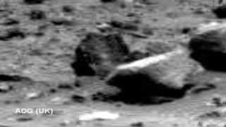 Mysterious Moving Object On Mars 2014 HD