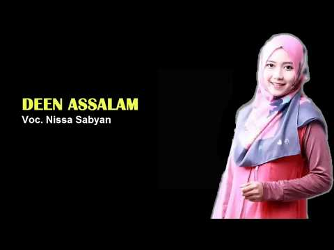 DEEN ASSALAM Cover Nissa Sabyan Lirik Terjemah TERBARU