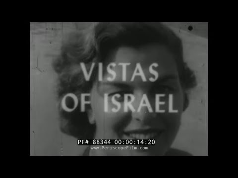 """vistas-of-israel""-1961-israeli-government-promo-film-tel-aviv-road-building-88344"
