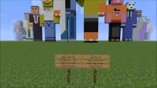 Minecraft - Pro Majnuj.cz - Sochy - Minecrafak až Cvrcek55 / Statuary (CZ)