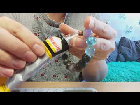 Как завязать резинку на браслете