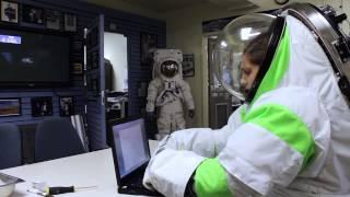 This is JSC: Z1 Spacesuit