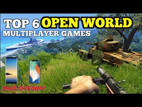 Top 6 Open World Multiplayer Games For Android (Wi-Fi/Bluetooth) + CHRISTMAS GIVEAWAY (CLOSED)