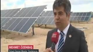 Türkiye'nin En Büyük Güneş Enerjisi Santrali Konya'da devreye girdi
