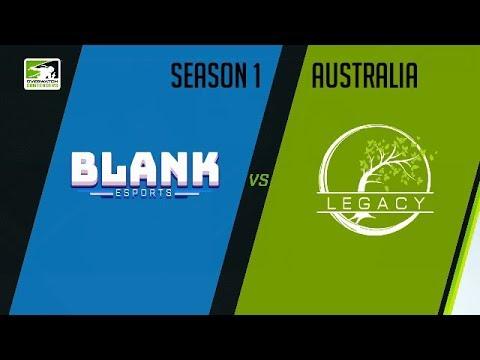 Blank Blue vs Legacy Esports (Part 1) | OWC 2018 Season 1: Australia
