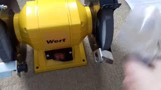 точильно-шлифовальный станок Wert GM 0315 обзор