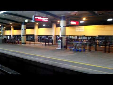 Leaving Cairns Central Station
