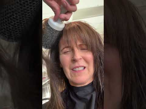 #2 removing moisture & Blow dry front