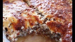 Рецепт гречки с курицей и грибами/Вкусный и быстрый ужин