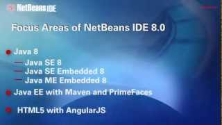 NetBeans IDE 8.0 Overview