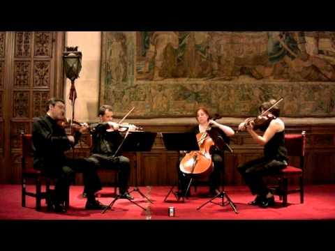 Anton Arensky: Variations on a Theme by Tchaikovsky, op.35a- Cuarteto Petrus