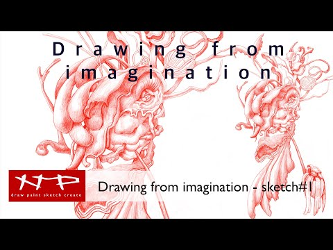 Procreate Tutorial - Drawing from Imagination - Sketch#1 thumbnail