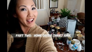 Part Two-Home Decor Thrift Haul