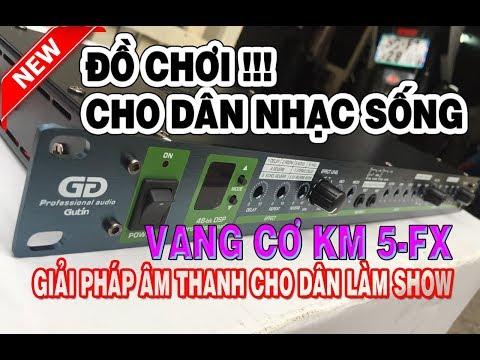 Anh em Nhạc Sống Mua Gấp! Vang Cơ Karaoke Gutin KM-5FX Làm Show Đám Cưới Không Thể Thiếu !!