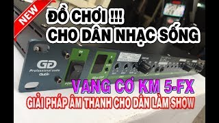 Vang Cơ Karaoke Gutin KM-5FX | Minh Anh AUDIO | 0938641445