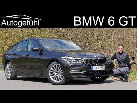 BMW 6 Series GT FULL REVIEW 6er Gran Turismo - Autogefühl