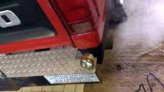 Exhaust tip sound improved