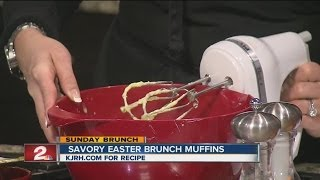 Sunday Brunch:  Julie Yoder's Savory Easter Brunch Muffins Part I