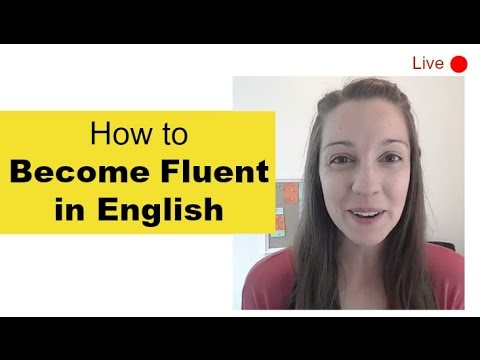 What courses do I need to take to become fluent in English?