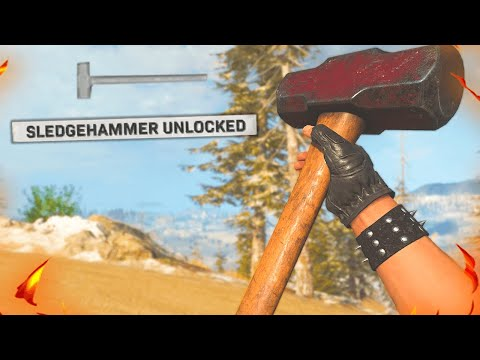 I FINALLY UNLOCKED THE SLEDGEHAMMER but it's just not it