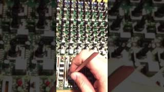 Cleaning Mixer Faders