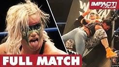 Tessa Blanchard vs Taya Valkyrie: STREET FIGHT (Uncaged Feb 15, 2019) | IMPACT Full Matches