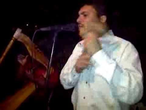 Cruz Gonzalez  El pollo del guarico  junto a Rodolfo Ruiz en el arpa.
