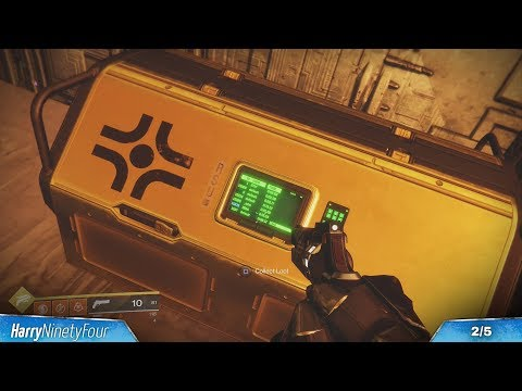 Destiny 2 - All Mercury Region Chest Locations (Destiny 2 Mercury Gold Chests)