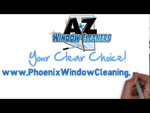 Window Cleaning in Phoenix, Arizona