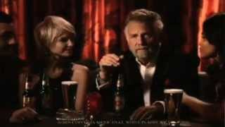 The Most Interesting Man In the World co-hosts the Yahoo Sports Minute w/ Angela Sun