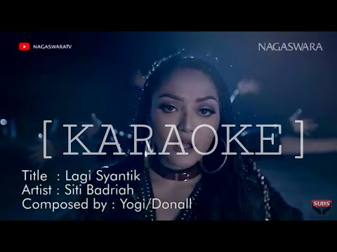 Siti Badriah-lagi Syantik Dj House Remix (karaoke) Full Lirik & Bass Boster (cover BK-5)