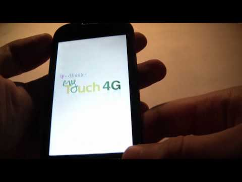 How To Hard Reset An HTC myTouch 4G Smartphone
