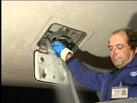 Airbus A320 Potable Water Tank Servicing Normal Filling