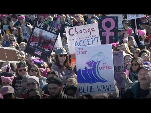 Download Youtube: US women's marches denounce Trump, call for female empowerment