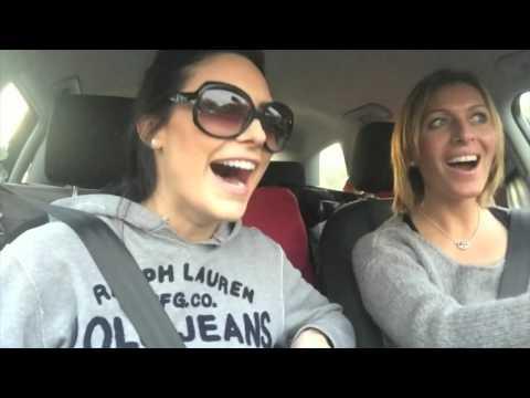 Carpool karaoke road trip.