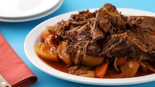 Slow Cooker Pot Roast- Martha Stewart