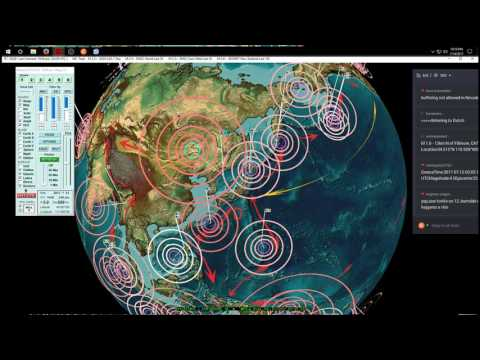 7/14/2017 -- Largest in months -- Midwest USA / Oklahoma M4.2 (M4.9) -- Forecast area direct hit