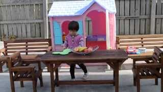 Little Tikes Playhouse Fun: 3 Years Old And Her Shop | By Thechildhoodlife